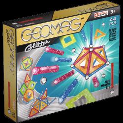 GEOMAG Klocki magnetyczne 44 el. Glitter Panels G532