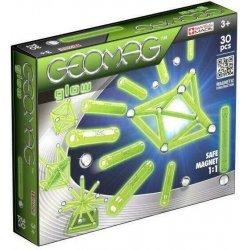 GEOMAG Klocki magnetyczne 30 el. Glow G335