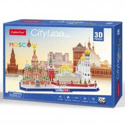 Puzzle 3D City Line Moskwa