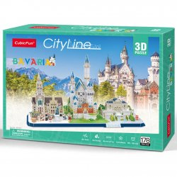 Puzzle 3D City Line Bawaria