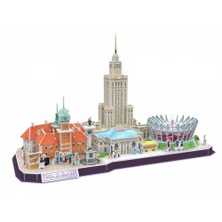 Puzzle 3D City Line Warszawa
