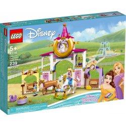 LEGO 43195 Królewskie stajnie Belli i Roszpunki