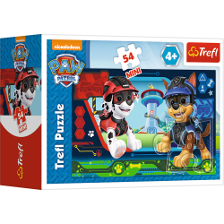 Puzzle mini 54 el. Psi Patrol - Chase i Marshall 19601/54163