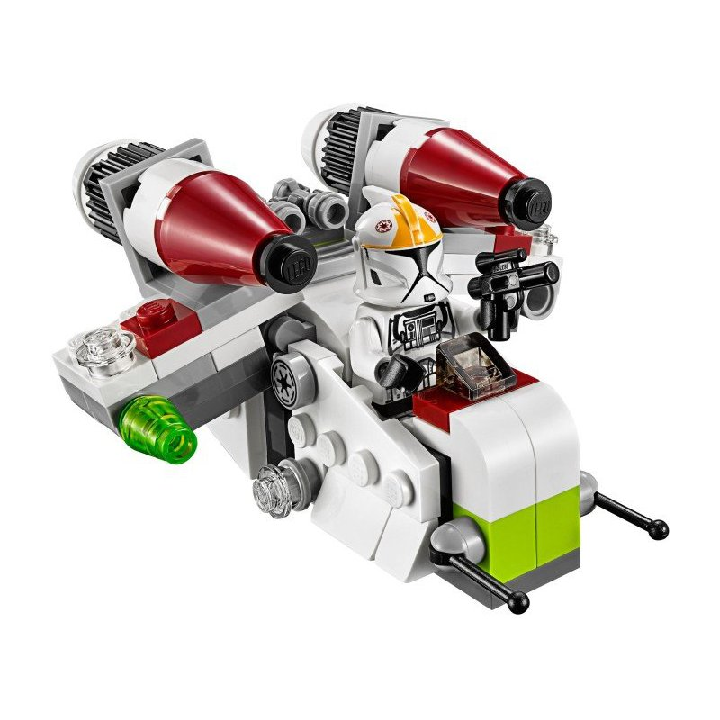 Clone Gunship Lego Instructions