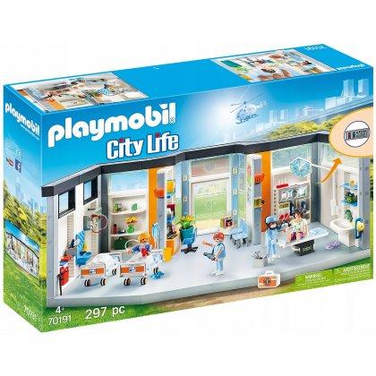 Playmobil 70191 Szpital Z Wyposażeniem