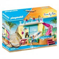 Playmobil 70435 Bungalow z basenem