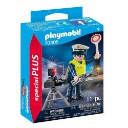playmobil 70305 Policjant z radarem