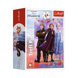 Puzzle Mini 54el. Kraina Lodu - Frozen II 19637