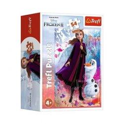 Puzzle Mini 54el. Kraina Lodu - Frozen II 19638