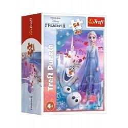 Puzzle Mini 54el. Kraina Lodu - Frozen II 19640