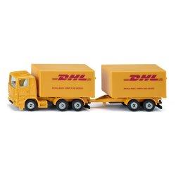 Siku Super: Seria 16 - Ciężarówka z przyczepą firmy DHL 1694