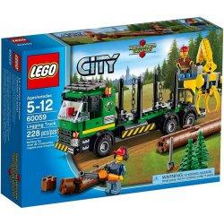 LEGO 60059 Ciężarówka do transportu drewna