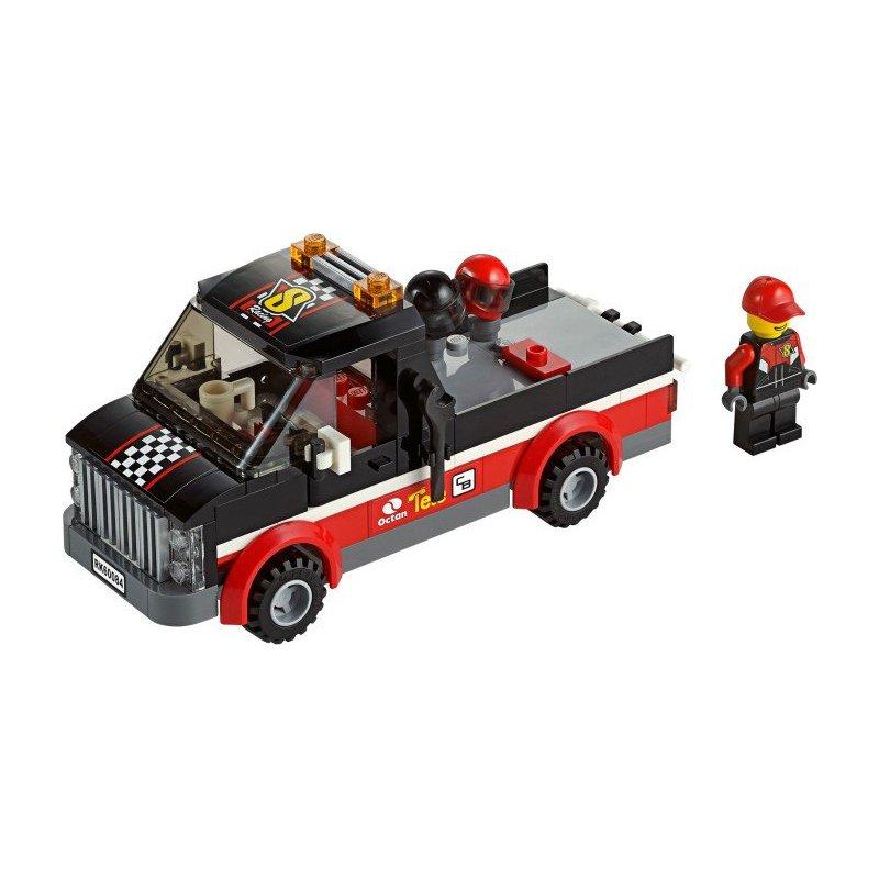 Racing Bike: Racing Bike Transporter Lego Instructions