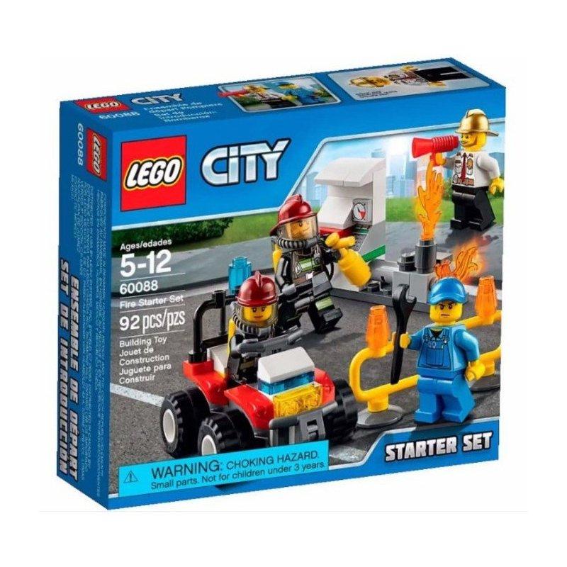 Lego 60088 Strażacy Zestaw Startowy Klocki Lego City Mojeklocki24