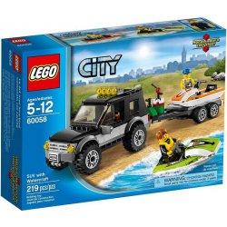 LEGO 60058 Terenówka ze skuterami