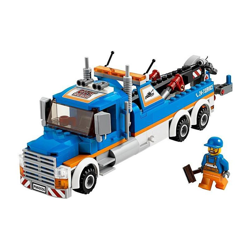 lego city tow truck 60056 instructions