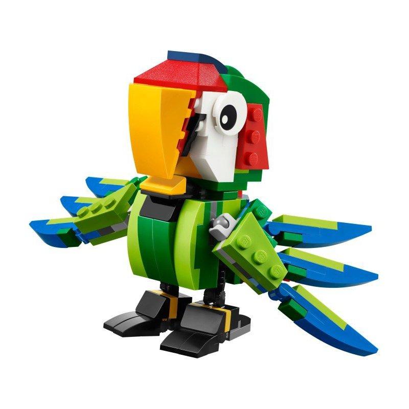 Lego 31031 Zwierzęta Z Lasu Deszczowego Klocki Lego Creator