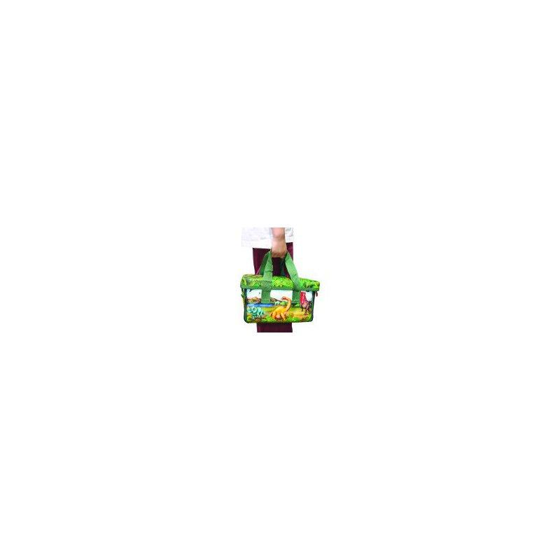 Lego A1043x2 Box Pojemnik Mata 2 Figurki Dinosaur Mojeklocki24