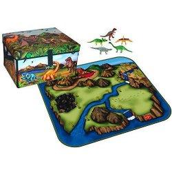 LEGO A1081X4 Box /mat Dinosaurs