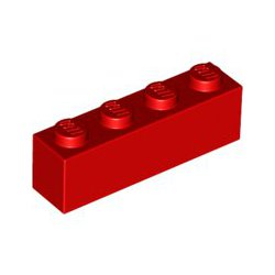 LEGO 3010 Klocek / Brick 1x4