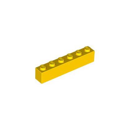 LEGO 3009 Klocek / Brick 1x6