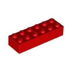 2456 Klocek / Brick 2x6 *