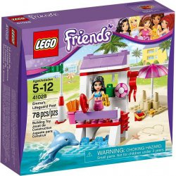 LEGO 41028 Emma's Lifeguard Post