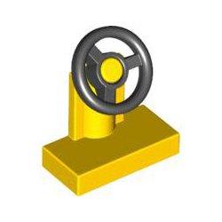73081 Console W/st Wheel Ye/bl