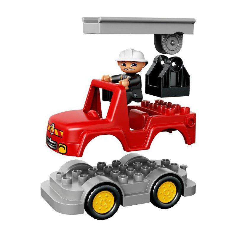 Lego 10593 Fire station, LEGO® Sets DUPLO - MojeKlocki24