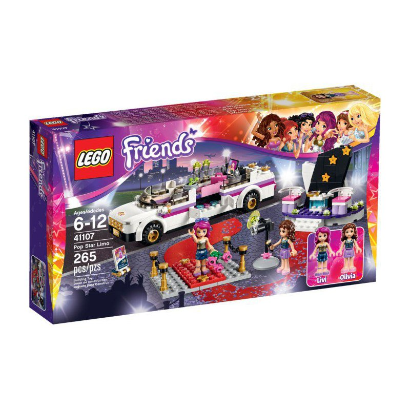 lego 41107 pop star limousine  lego u00ae sets friends