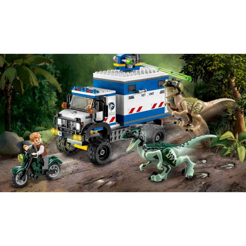 Lego 75917 Raptor Rampage Lego Sets Jurassic World Mojeklocki24