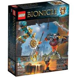 LEGO 70795 Twórca Masek kontra Władca Czaszek
