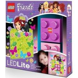 LEGO LGL-NI3M Lampka Klocek Friends Mia + naklejka