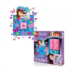 LEGO LGL-NI3O Lampka klocek Friends Olivia + naklejka