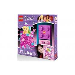 LEGO LGL-NI3S Lampka klocek Friends Stephanie + naklejka