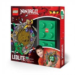 LEGO LGL-NI4L Lampka klocek Ninjago Lloyd + naklejka