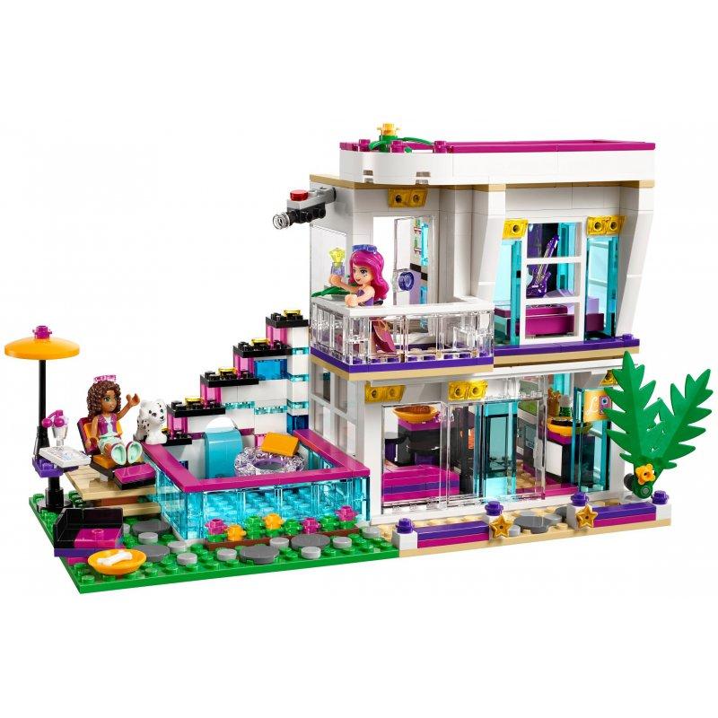 Modernes Lego Wohnzimmer 2018: Lego 41135 Dom Gwiazdy Pop Livi, Klocki LEGO Friends