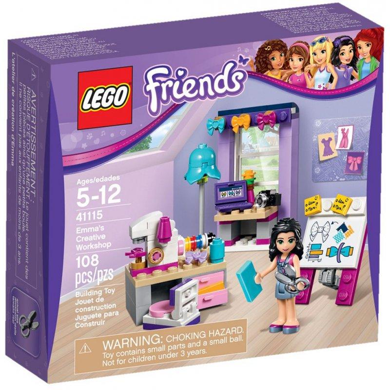 Lego 41115 Emmas Creative Workshop Lego Sets Friends Mojeklocki24