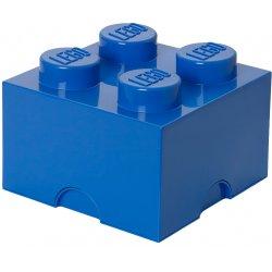 Pojemnik LEGO na klocki 4 - niebieski