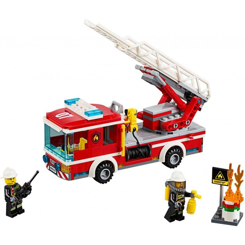 Lego 60107 Wóz Strażacki Z Drabiną Klocki Lego City Mojeklocki24
