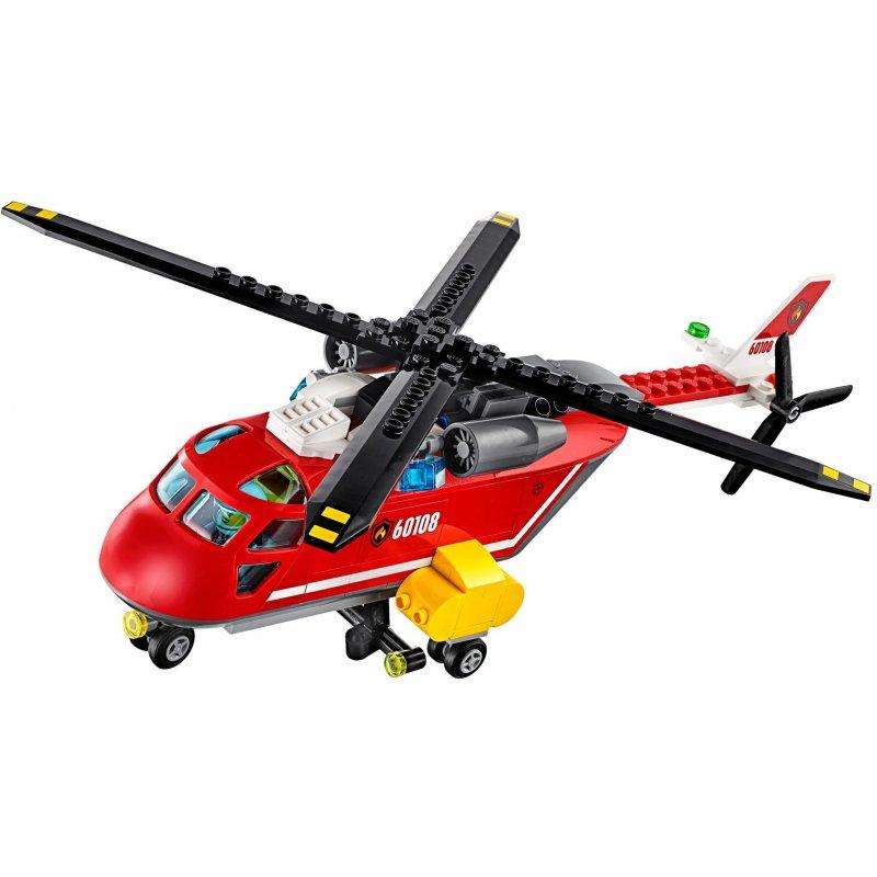 Lego 60108 Helikopter Strażacki Klocki Lego City Mojeklocki24