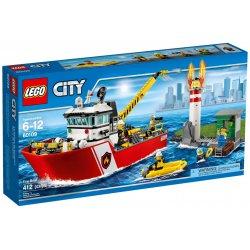 LEGO 60109 Łódź strażacka
