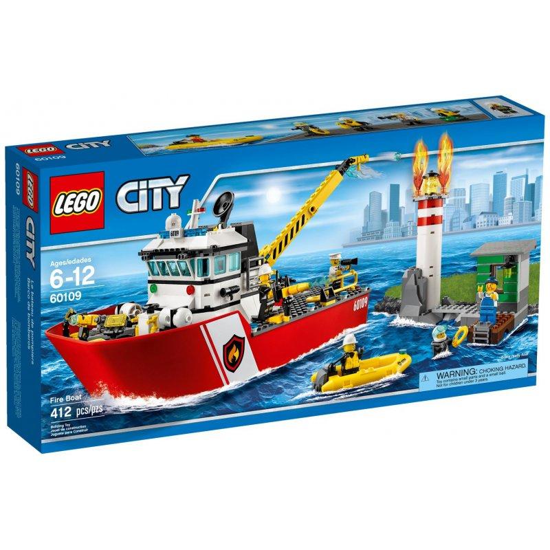 Lego 60109 Fire Boat Lego Sets City Mojeklocki24