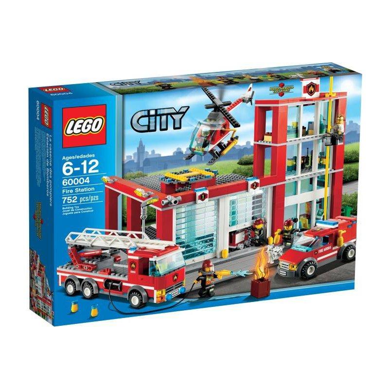 Lego 60004 Remiza Strażacka Klocki Lego City Mojeklocki24