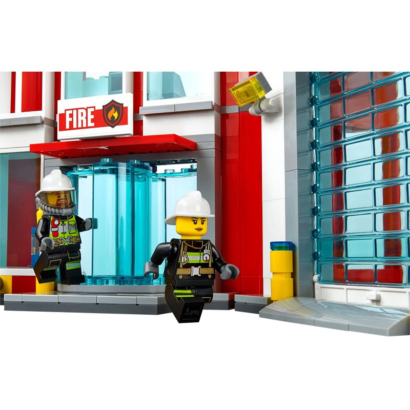Lego City Fire Helicopter Instructions 60110