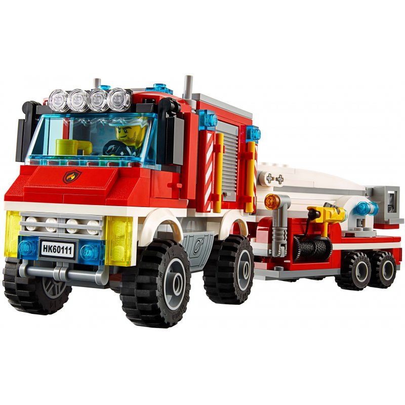 Lego 60111 Strażacki Wóz Techniczny Klocki Lego City Mojeklocki24