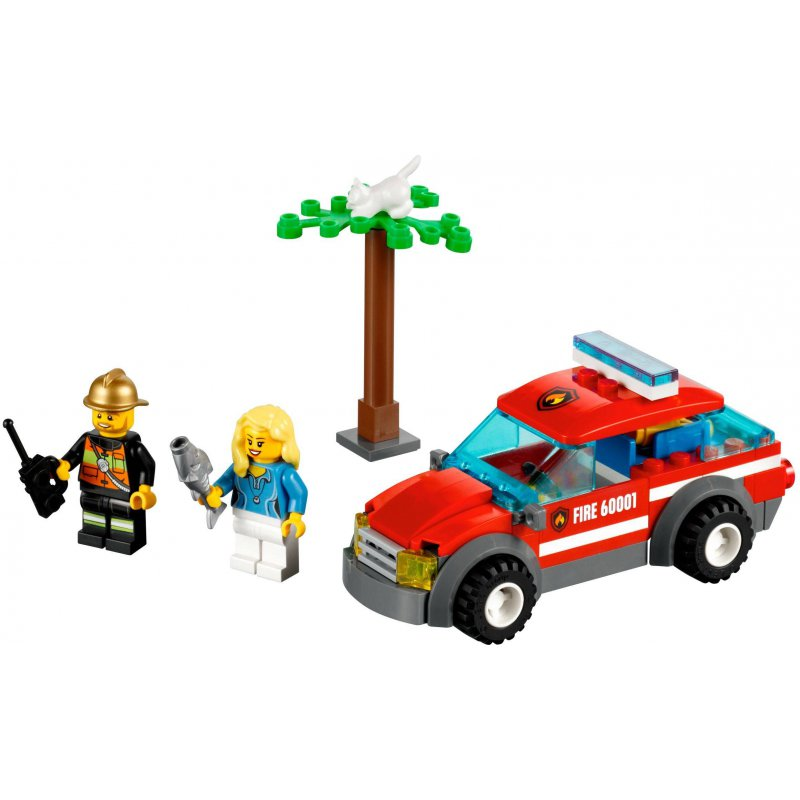 Lego 60001 Samochód Komendanta Straży Pożarnej Klocki Lego City