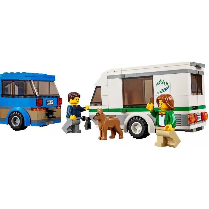 Lego 60117 Van Z Przyczepą Kempingową Klocki Lego City Mojeklocki24