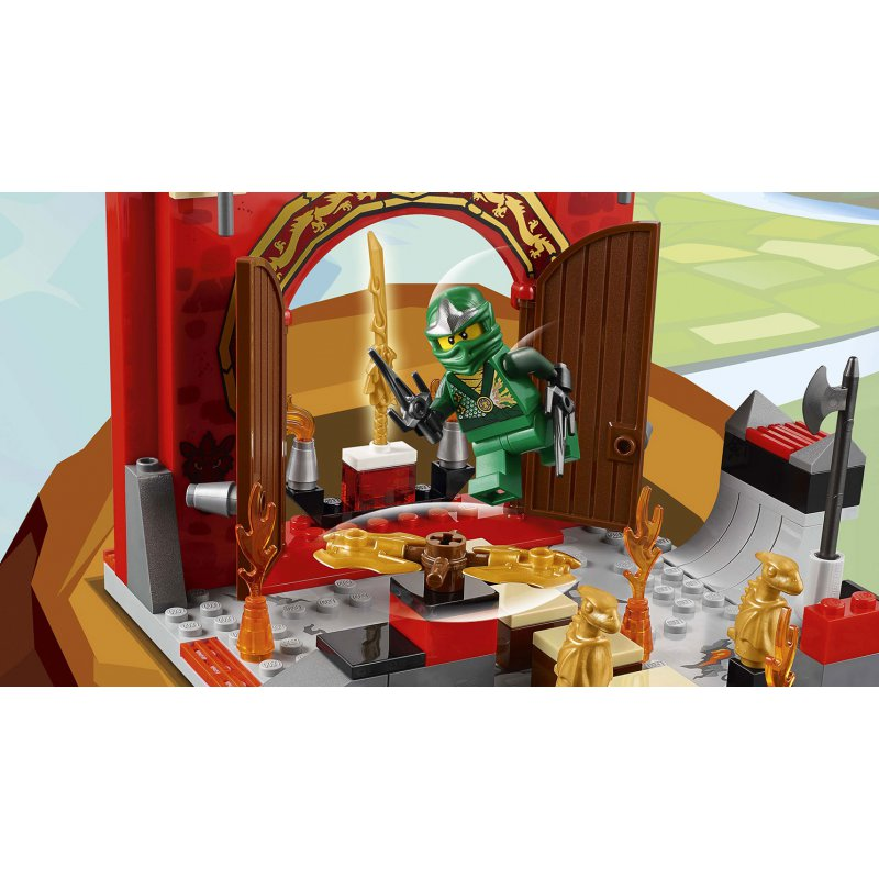 ninjago fire temple instructions