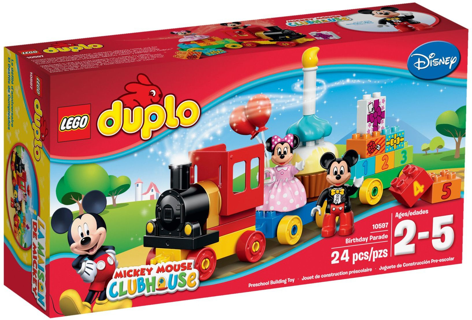 Lego 10591 Fire Boat Sets Duplo Mojeklocki24 10593 Station 10597 Mickey Minnie Birthday Parade
